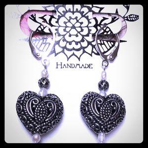 Masala Heart Earrings